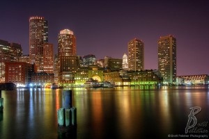 boston-skyline-and-rowes-wharf-at-night