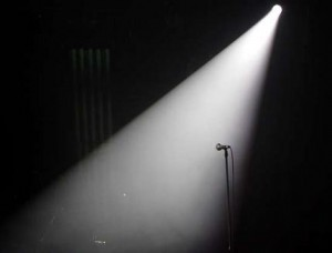 spotlight-on-stage