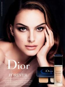 Natalie Portman - Dior Forever Make-up